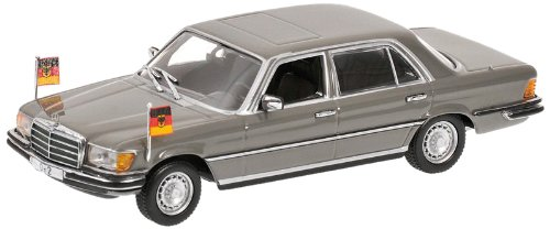 Minichamps 1/43 Mercedes-Benz 300SEL 'HELMUT SCHMIDT' gray (japan import)