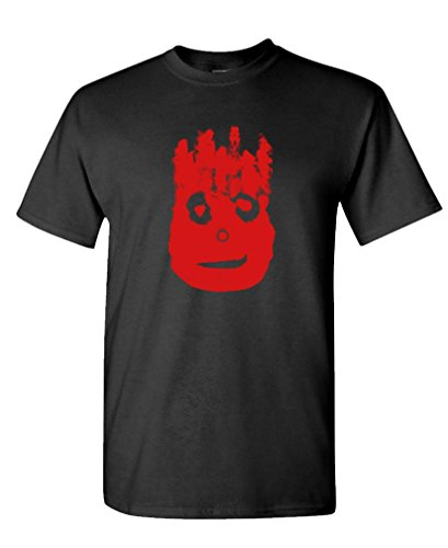 - Volleyball Bloody FACE - Ocean Movie Hanks - Mens Cotton T-Shirt, M, Black