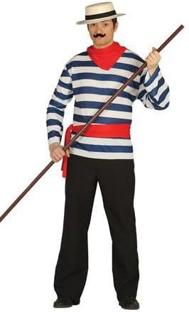 Disfraz de Gondolero Carlo adulto: Amazon.es: Juguetes y juegos