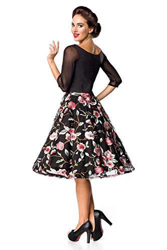 Rosa Negro Para Vestido Mujer Belsira ZqxItvc