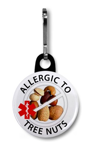allergic-to-tree-nuts-allergy-medical-alert-1-inch-black-zipper-pull-charm