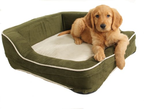 Dolce Vita Therabed Heated Pet Bed (Rectangle), Small by ColdHeat