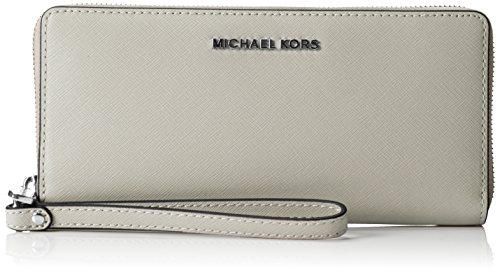 Michael Kors Jet Set Travel Saffiano Leather Continental Wallet - 8.25in X 4in X 0.75in by Michael Kors
