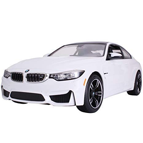 RASTAR Licensed R/C Remote Control Car Vehicle 1:14 BMW M4 Coupe 70900 White Car Model Kid Child Toy