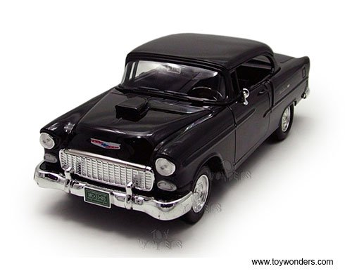 - 79001BK 1955 Chevy Bel Air Hard Top 79001BK 1/18 scale Motormax Custom Classics wholesale diecast model car u67p1u70seh 329b9fhz diecast car yuxbn34 dserrt 79001BK Motorm