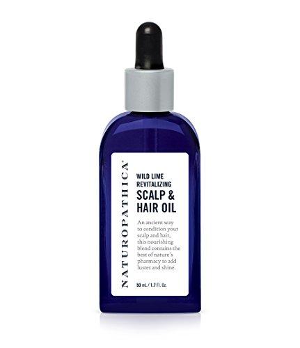 Oil Revitalizing Hair (Naturopathica Wild Lime Revitalizing Scalp & Hair Oil 1.7 oz.)