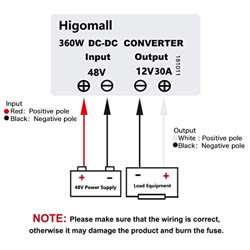 Golf Cart Voltage Converter Wiring Diagram