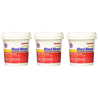Pack of 3 Savogran 10501 Wood Bleach, 12 oz,Black