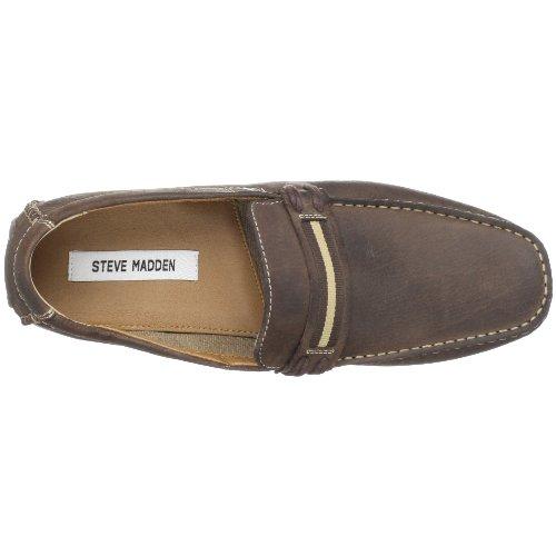 Slip-on Steve Madden Mens Slip-on Marrone Scuro