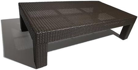 Amazon.com : Strathwood Camano All-Weather Wicker Coffee Table : Patio Side Tables : Garden & Outdoor
