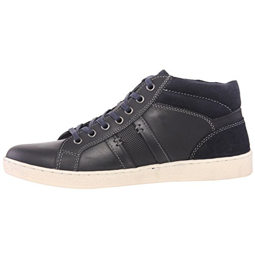 Unze Hombres 'Lawton' Casual Trainers Lace Up Zapatos Tamaño 7-12 Armada