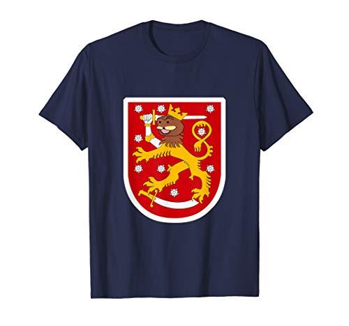 Spurdo Sparde Finnish Bear Meme Coat of Arms T-Shirt (Coat Arms Finnish Of)