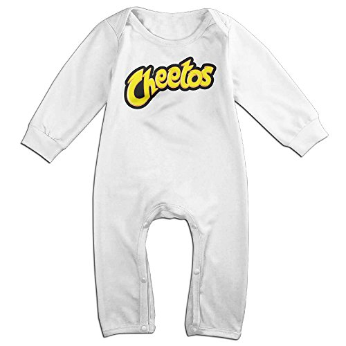 Anarchy Of Diy Costume Sons (Dara Cheetos Logo NewBorn Long Sleeve Jumpsuit Outfits White 12)