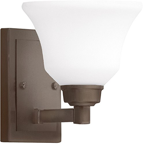 Kichler 5388OZ Langford Wall Sconce 1-Light, Olde Bronze For Sale
