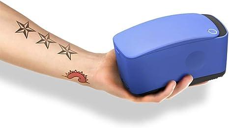 KJRJWS Impresora tatuaje, color automática 3D indolora tatuaje ...