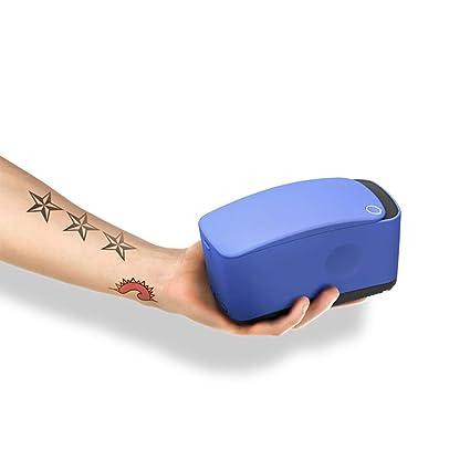 KJRJWS Impresora tatuaje, color automática 3D indolora ...