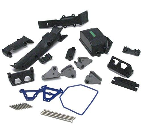 1/16 Summit SKID PLATES, RX Box, E-revo Hinge Pins, Rockers 7023 Traxxas 72074