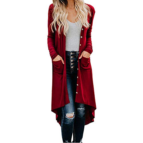 Long Cardigans for Women Long Sleeve Solid Color