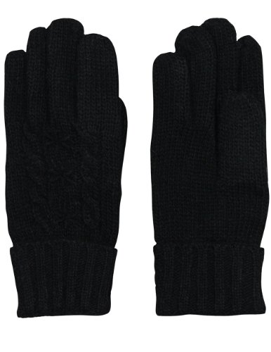 Dahlia Women's Star and Cable Wool Blend Knit Gloves - (Dahlia Stars)