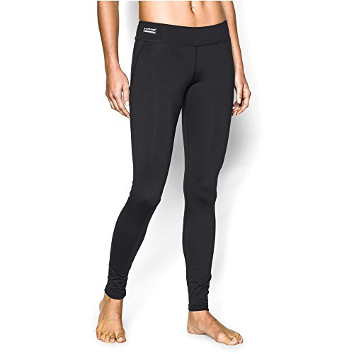 Under Armour Women's ColdGear Infrared Tactical Leggings, Black/Black, X-Small