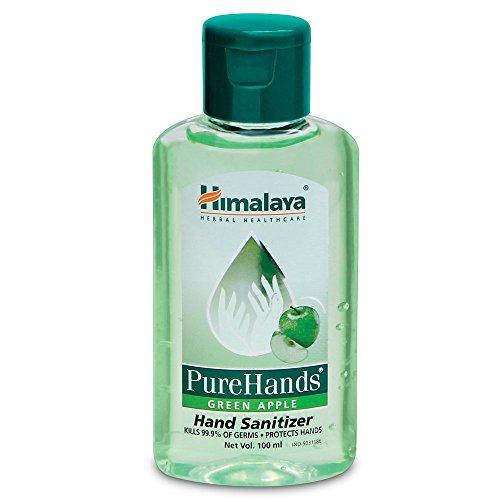 Himalaya Herbals Pure Hands Hand Sanitizer – 100 ml (Green Apple)