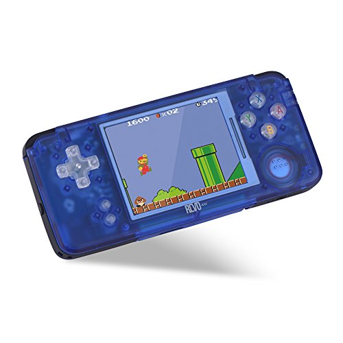 NEW Crystal Blue Revo K101 Plus Emulator Game Handheld ()