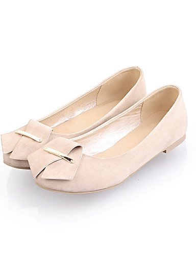 Fuchsia vell¨®n exterior Uk8 Eu42 Mujer Fucsia us10 5 us10 Zq Black bailarinas 5 Plano 5 Cn43 Beige tac¨®n negro confort Puntiagudos Casual HYq8Awg