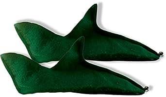 Elf Shoes, Green Felt - Accessories & Makeup