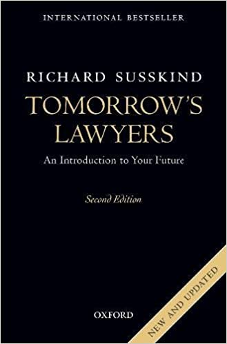 Tomorrow's Lawyers: An Introduction To Your Future por Richard Susskind epub
