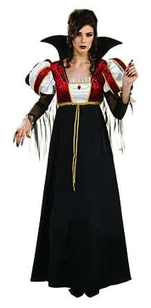 Women's Royal Vampire Halloween Costume Gown