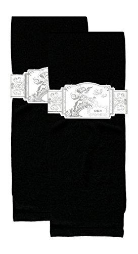 Sox Trot SOLID BLACK / 2pr. PACK - Nylon - Sox Socks Trot