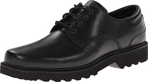 Mens Black Leather Oxfords - Rockport Men's Northfield Oxford-Black-9.5 W