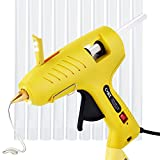 Hot Glue Gun with LED Lights,60/100W Full Size Dual Power High Temp Heavy
