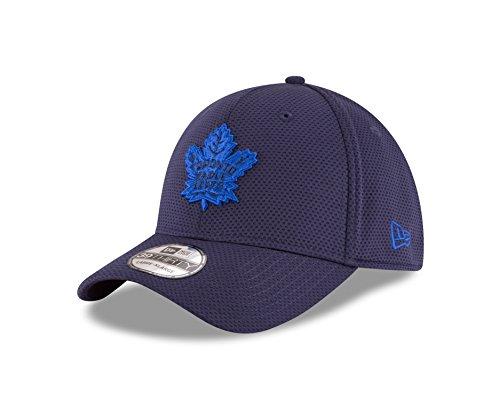 NHL Toronto Maple Leafs Adult Tone Tech Redux OTC 39THIRTY Stretch Fit Cap, Medium/Large, Navy ()
