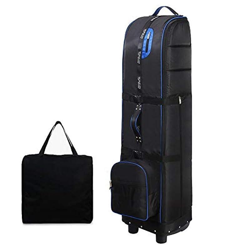 두꺼운 옥스포드포 소재,휠과 더스트 수납 가방 딸린 화려한 골프 트래블 백,스펀지에 고정 된내 충격성,360도 접이식식,막다른 곳 없음