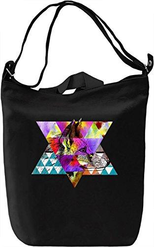 Beauty Of Fox Borsa Giornaliera Canvas Canvas Day Bag| 100% Premium Cotton Canvas| DTG Printing|
