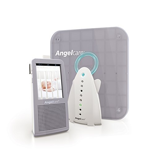 Angelcare Video, Movement and Sound Monitor, Gray/white