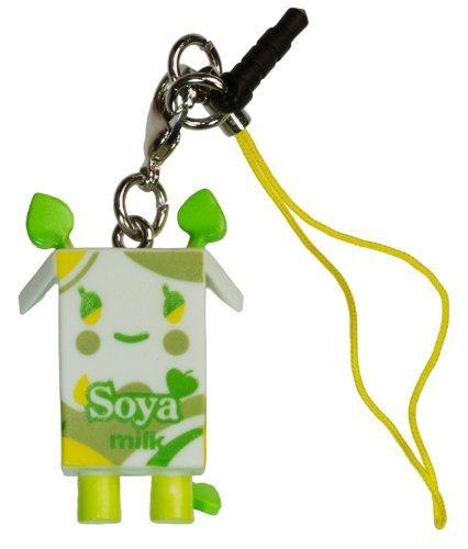 "Soya Milk ~1.5"" Mini-Figure - Tokidoki Frenzies Clip + Phonezie Charm"