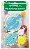 Clover 3129 Set Pom Maker, Multiple 4 Pack