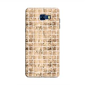 Cover It Up - Brown Pink Break Mosaic Galaxy C7 Pro Hard Case