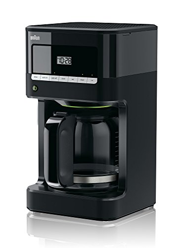 Braun KF7000BK Brew Sense Drip Coffee Maker, Black by Braun