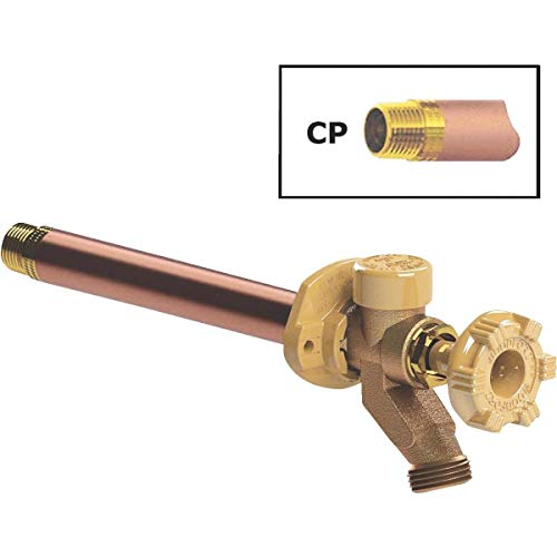 Woodford 1/2 In. SWT X 1/2 In. MIP X 3/4 In. MHT Anti-Siphon Frost Free Wall Hydrant - 17CP-12-MH
