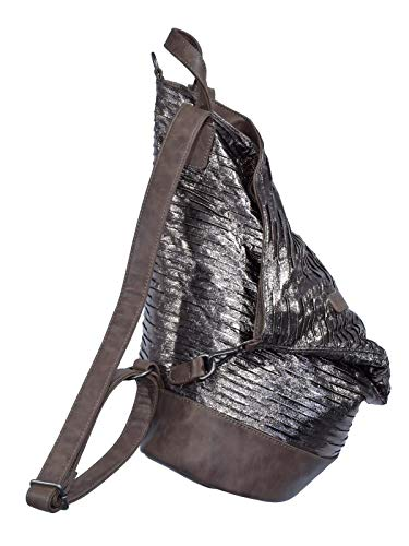 Mujer Bolso Fritzi Braun dark Aus Bronze Mochila Preußen Tomke TTXt6v