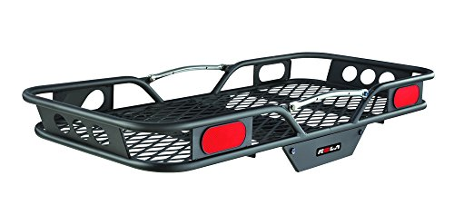 Rear Rack Cooler (ROLA 59502 Vortex Steel Cargo Carrier, Hitch-Mount, High-Capacity Basket (2-Inch Receivers))