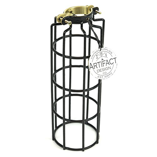 Cheap  Industrial Design Elongated Metal Wire Cage Lamp Guard by Artifact Design for..