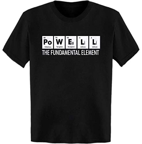 Powell The Fundamental Element Periodic Table T-Shirt Black