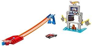 Mattel Hot Wheels DTK11 - Spielbahn, Triple Treffer Stunt Trackset, bunt