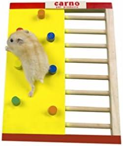 Petacc Hamster escalada juguete de madera hámster escalera pequeña mascota juguete para hámster, ardilla y cobaya.: Amazon.es: Productos para mascotas