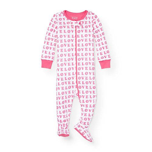 The Childrens Place Baby Love Stretchie Pajamas