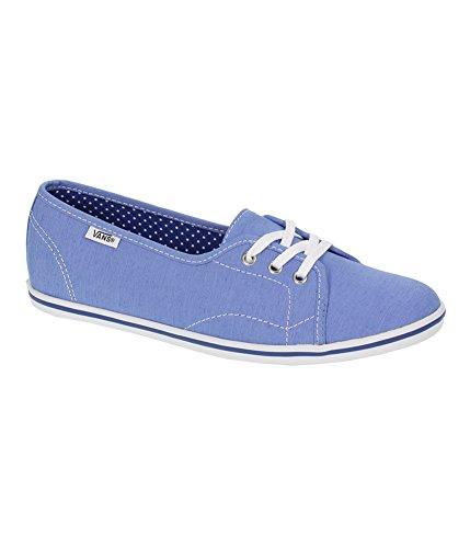 Vans Unisex Leah Suiting Comfort Loafers bluetruewhite M9...